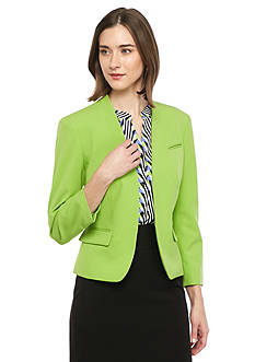 Nine West Single Hook Closure Jacket