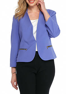 Nine West Plus Size Tailored Jacket