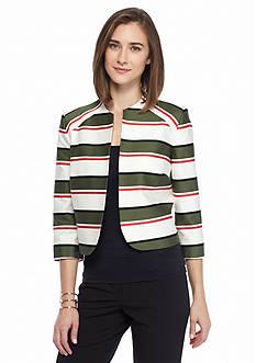Nine West Stripe Jacket