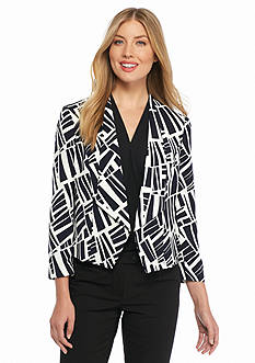 Nine West Print Valeta Jacket