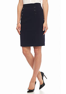 Nine West Straight Taylor Skirt