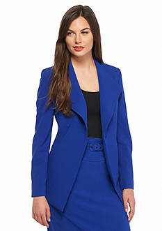 Nine West Wide Lapel Jacket