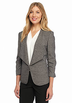 Nine West Wide Lapel Flyaway Jacket