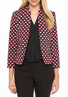 Nine West Print Jacket