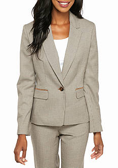 Nine West Mini Houndstooth Jacket