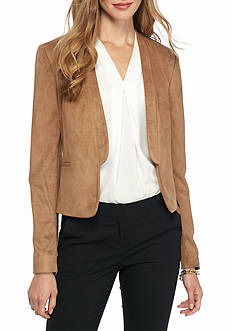 Nine West Faux Suede Jacket