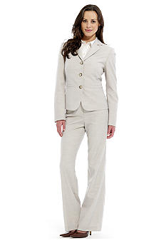 Nine West Suit Notch Collar Pant Suit