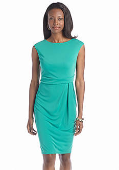 Jones New York Dress Cap Sleeve Sheath Dress