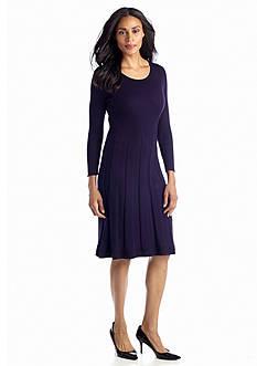Jones New York Dress Long-Sleeve Sweaterdress