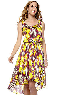 Vince Camuto Sleeveless Hi-Lo Dress  - Belk.com