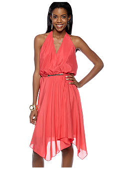 Vince Camuto Halter Dress Belk com from belk.com