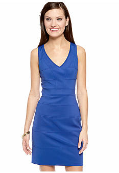 Vince Camuto Sleeveless V-Neck Sheath Dress