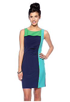 Vince Camuto Color Block Sheath Dress