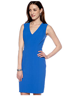 Vince Camuto Drop Neck Sheath Dress