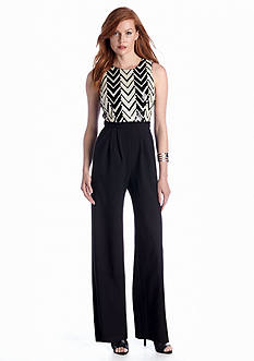 Vince Camuto Sleeveless Jumpsuit with Sequin