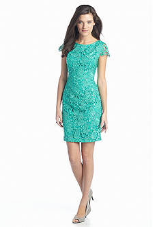 Vince Camuto All-Over Lace Sheath Dress
