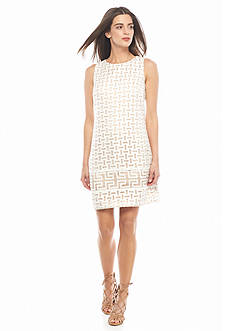 Vince Camuto Organza Shift Dress