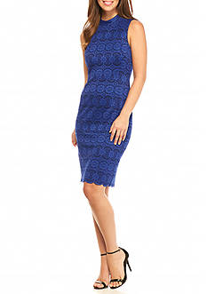 Vince Camuto Lace Bodycon Sheath Dress