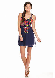 sequin hearts Abstract Shift Dress