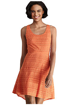 Donna Morgan Sleeveless Allover Lace Dress