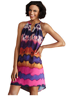Donna Morgan Sleeveless Printed Shift Dress