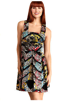 Donna Morgan Sleeveless Printed Dress