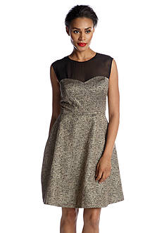 Donna Morgan Sleeveless Fit and Flare Party Dress