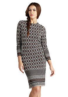 Donna Morgan Printed Jersey Shift Dress