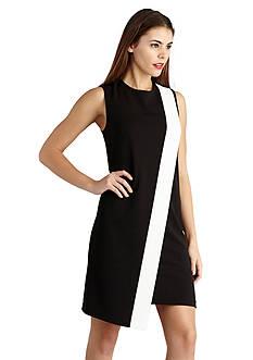 Donna Morgan Color-block Shift Dress