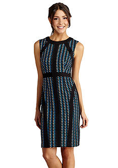 Donna Morgan Printed Sheath Dress