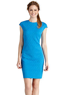 Donna Morgan Cap-Sleeve Sheath Dress