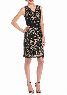 Ronni Nicole Lace Sheath Dress