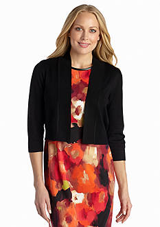 Ronni Nicole Three-Quarter Sleeve Shrug