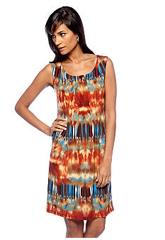 Ronni Nicole Sleeveless Printed Shift Dress