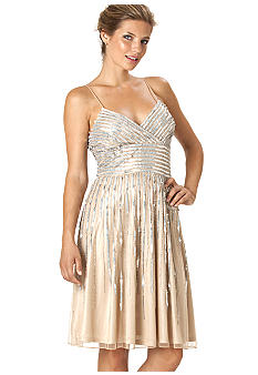 JS Boutique Spaghetti Strap Sequins Dress