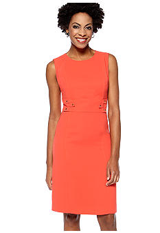 Tahari ASL Sleeveless Sheath Dress