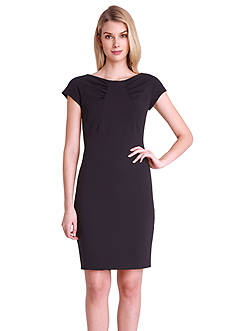 Tahari ASL Cap-Sleeve Sheath Dress