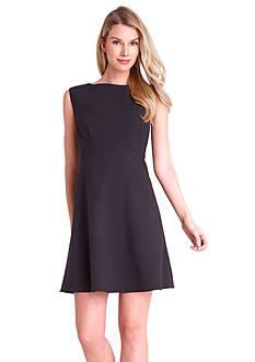 Tahari ASL Sleeveless Fit and Flare Dress