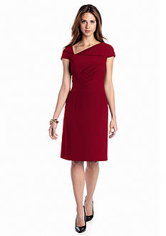 Tahari ASL Sleeveless Sheath Dress