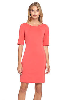 Tahari ASL Scuba Sheath Dress