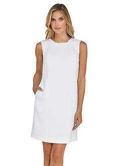 Tahari ASL Jacquard Shift Dress