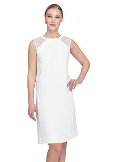 Tahari ASL Crepe Sheath Dress