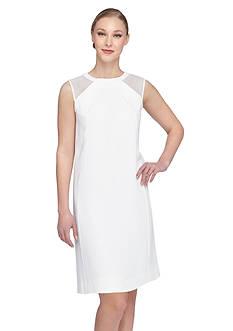 Tahari ASL Crepe Sheath Dress