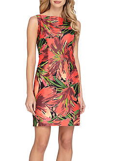 TAHARI™ Floral Printed Sheath Dress