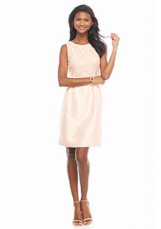 Tahari ASL Lace Bodice Sheath Dress