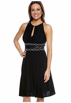 RM Richards Petite Halter Cocktail Dress