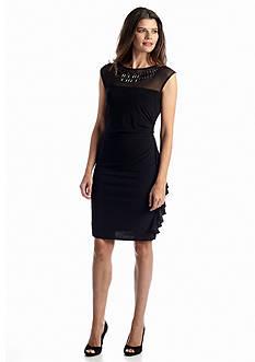 RM Richards Sleeveless Sheath Dress