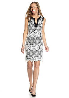 RM Richards Lace Shift Dress