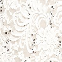 Formal Dresses for Women: Ivory/Taupe RM Richards Lace with Sequin Halter Gown