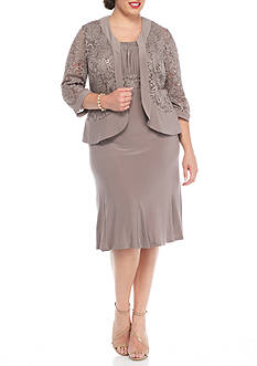 RM Richards Plus Size Plus Size Jacket Dress